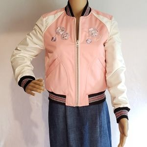 Brand New Coack Pink Crush Jacket MSRP $598